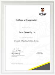 新南威尔士大学授权